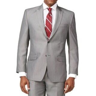 Sean John NEW Men's Black Size 42 Regular Two Button Sport Coat
