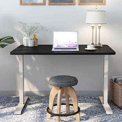 Standing Desk Frame Home Office Adjustable Height Without Table Top
