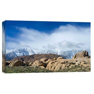 "PTM Images 9-101950  PTM Canvas Collection 8"" x 10"" - ""Alabama Hills"" Giclee Rural Art Print on Canvas"