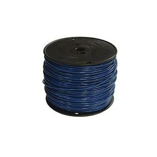 Southwire 14BL-STRX500 Thhn Stranded Single Wire, 14Gauge, Blue