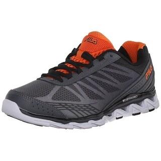 Fila Men's Romeo 2 Energized Running Shoe - castlerock/black/red orange