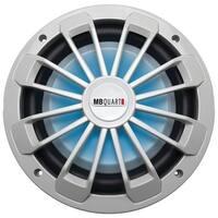 "Mb Quart Nw1-254L Nautic Series Marine-Certified 10"" 600-Watt Shallow Subwoofer (With Led Illumination)"