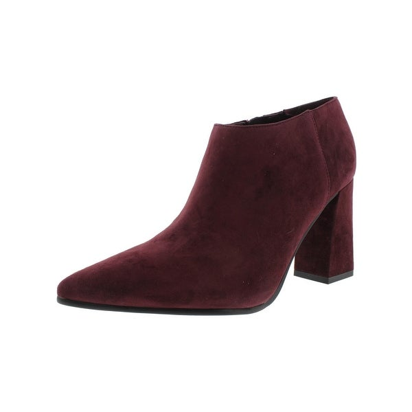 Marc Fisher Womens Jayla Booties Suede Pointed Toe