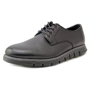 GBX Hart Men Round Toe Leather Black Oxford