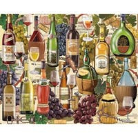 "Jigsaw Puzzle 1000 Pieces 24""X30""-Wine Country"