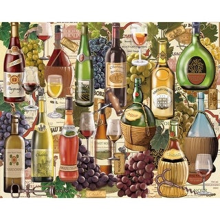 """Jigsaw Puzzle 1000 Pieces 24""""X30""""-Wine Country"""