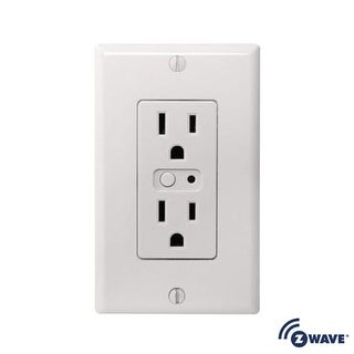 NuTone NWO15Z Smart Wall Outlet with Z-Wave Compatibility - White