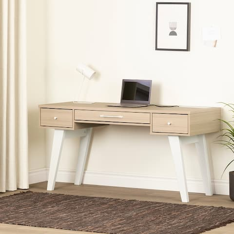 South Shore Helsy Computer Desk with Power Bar