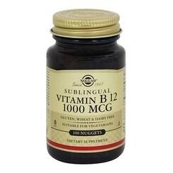 Solgar Vitamin B12 1000 mcg Nuggets 100