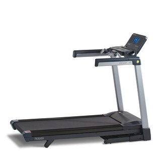 LifeSpan Fitness tr3000i Manual Folding Exercise Treadmill - Black