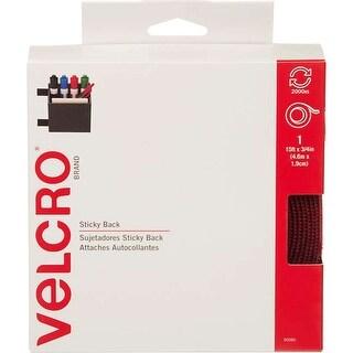 """Red - Velcro(R) Brand Sticky Back Tape 3/4""""X15'"""