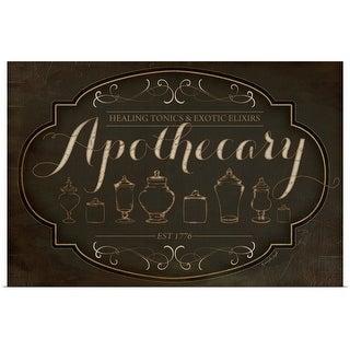 """Apothecary"" Poster Print"