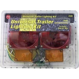 Peterson V540 Universal Trailer Lighting Kit, Red