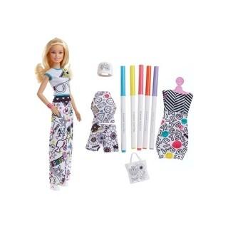 Barbie Crayola Color In Fashion Doll