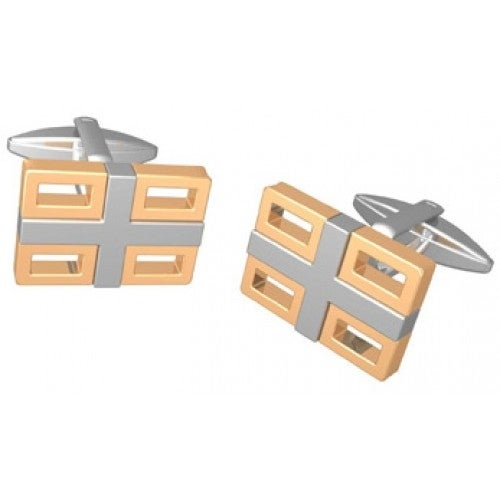 Golden Stainless Steel Cufflinks