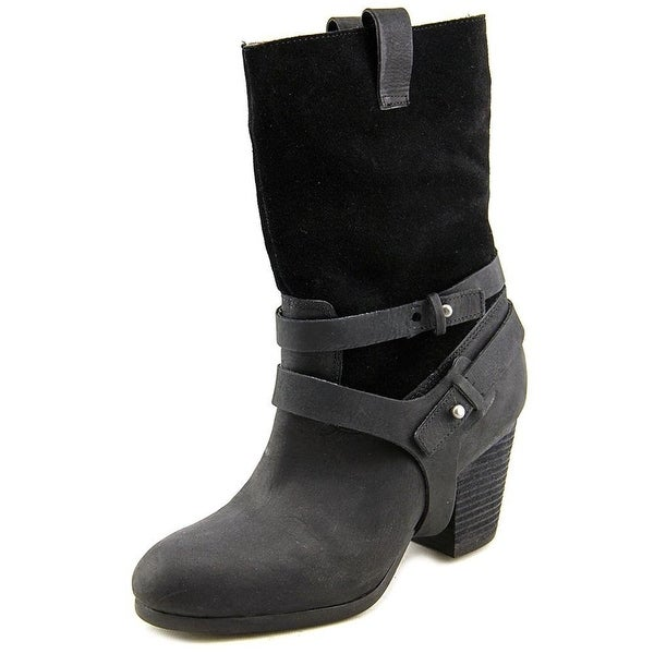 POLO Ralph Lauren Womens MATTIE Leather Closed Toe Knee High Fashion Boots