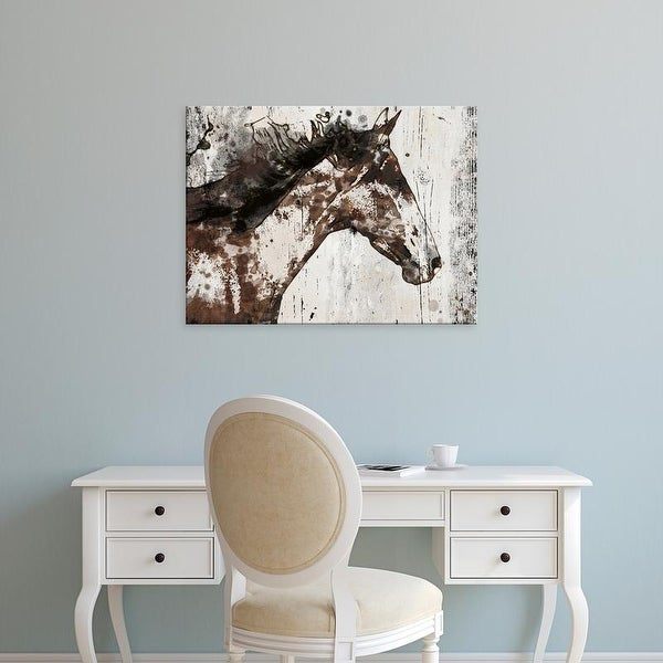 Easy Art Prints Irena Orlov's 'Galaxy Horse I' Premium Canvas Art