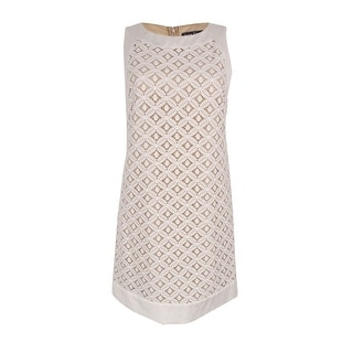 Jessica Howard Women's Geometric-Lace Sheath Dress
