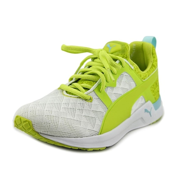Puma Pulse Xt Sport Round Toe Synthetic Yellow Sneakers For Women