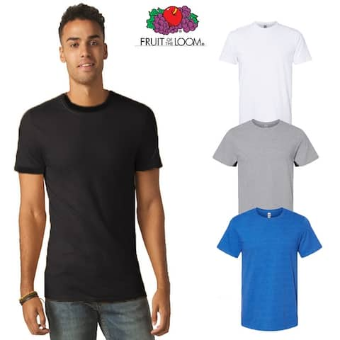 Fruit of the Loom Unisex ( 4 PACK) Classic Fit T Shirt