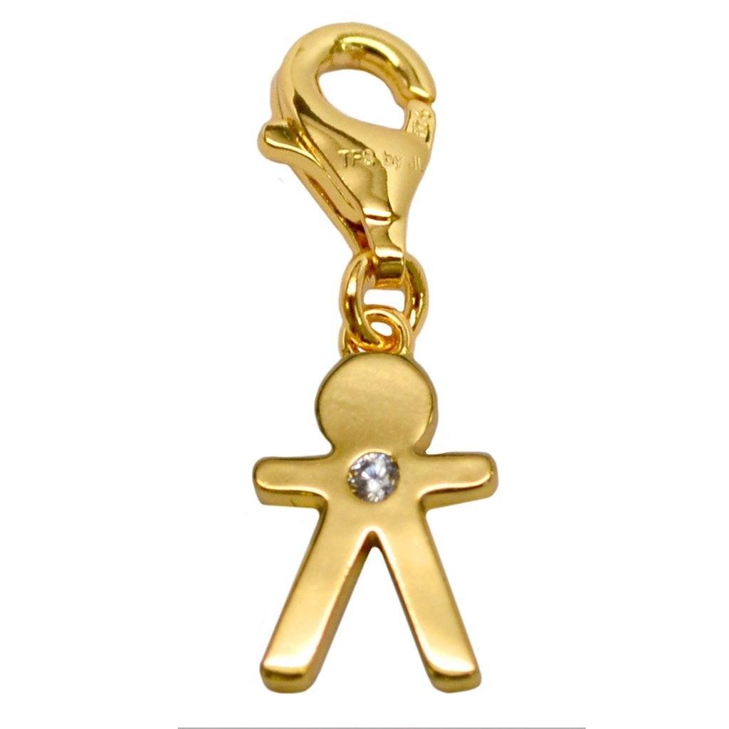 Julieta Jewelry Boy Clip-On Charm - Thumbnail 0