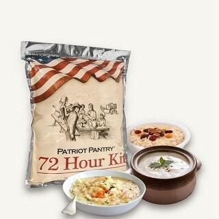 Patriot Pantry 72-Hour Food Supply Kit - Emergency 16 Servings