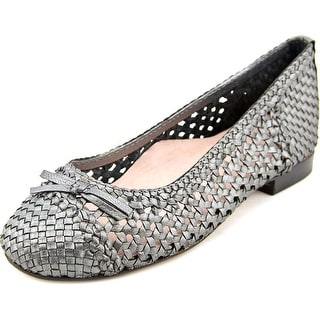Taryn Rose Bobo Round Toe Leather Flats