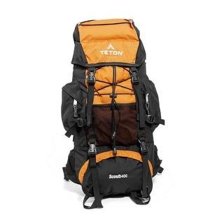 NEW & SEALED! TETON Sports Scout 3400 Internal Frame Backpack (Mecca Orange) - mecca orange