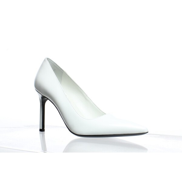 bf9fdf0b34f Shop Via Spiga Womens Nikole White Leather Pumps Size 7 - Free ...
