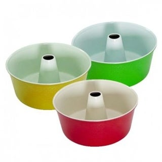 Nordic Ware 50922 Angel Food Cake Pan, 12 Cup, Assorted Colors