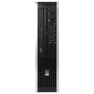 HP 8000 Elite Desktop Computer USFF Intel Core 2 Duo E8400 3.0G 4GB DDR3 1TB Windows 7 Pro 64 WIFI 1 Year Warranty (Refurbished)