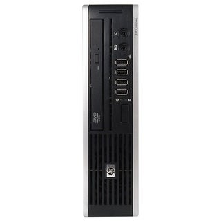 HP 8000 Elite Desktop Computer USFF Intel Core 2 Duo E8400 3.0G 4GB DDR3 500G Windows 7 Pro 64 1 Year Warranty (Refurbished)