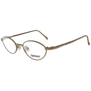 DKNY 6207 225 Satin Antique Copper Oval Eyewear - 43-17-130