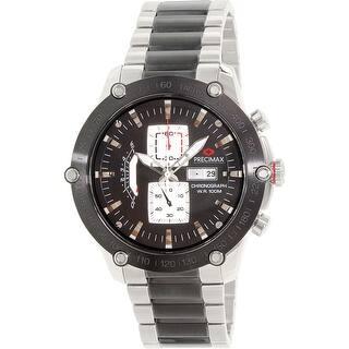 Precimax Men's Retro Pro PX14019 Silver Stainless-Steel Quartz Dress Watch|https://ak1.ostkcdn.com/images/products/is/images/direct/b9b99c0813797bd91a0d4e583ef0cec0e86b4b4c/Precimax-Men%27s-Retro-Pro-PX14019-Silver-Stainless-Steel-Quartz-Dress-Watch.jpg?impolicy=medium