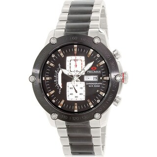 Precimax Men's Retro Pro PX14019 Two-Tone Stainless-Steel Plated Dress Watch