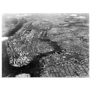 Shop 1930 S 1940 S Aerial View New York City Brooklyn