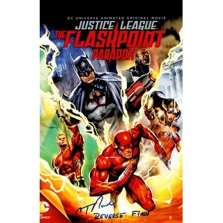 C. Thomas Howell Signed Justice League The Flashpoint Paradox 11x17 Movie Poster w/Reverse Flash