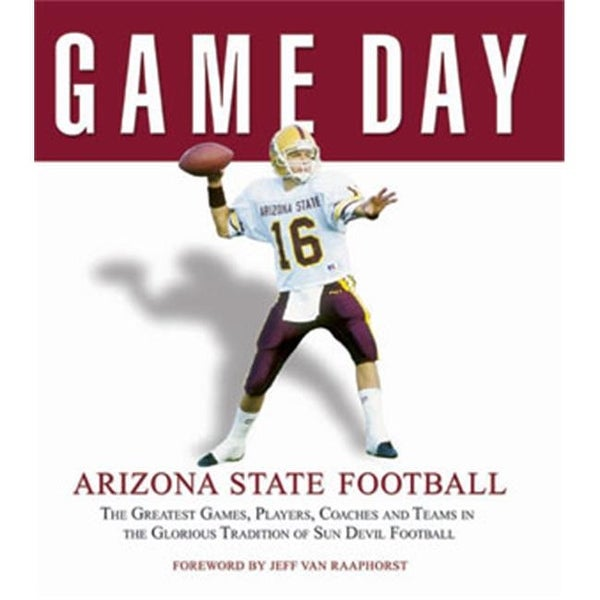 22088a0f8c413 Shop CTBL-GD4714 Arizona State Sun Devils Football Game Day Book Sports -  Free Shipping On Orders Over  45 - Overstock - 23860031