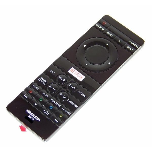 OEM Sharp Remote Control Originally Shipped With: LC50UB30U, LC-50UB30U, LC55UB30, LC-55UB30, LC55UB30U, LC-55UB30U