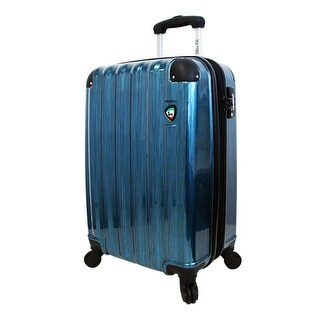 Mia Toro ITALY 25 Inch Spazzolato Lucido Hardsided Rolling Luggage