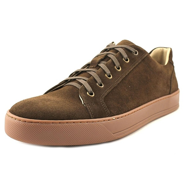 Kenneth Cole Reaction Sky High Men Round Toe Suede Brown Sneakers