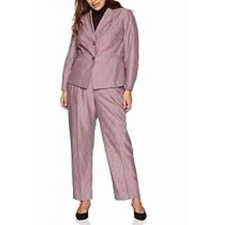Link to Le Suit Women's Pant Suit Plus Two-Button Notched Similar Items in Suits & Suit Separates