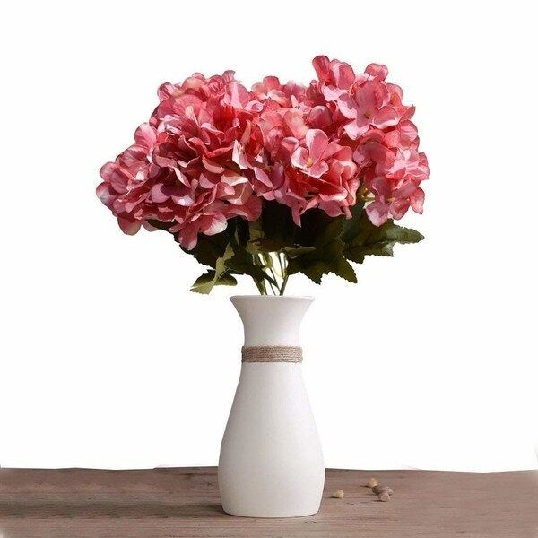 YEDREAM 2pcs Artificial Flowers Floral Bouquet Scotland Hydrangea Flower Plant For Home Bridal Wedding Party