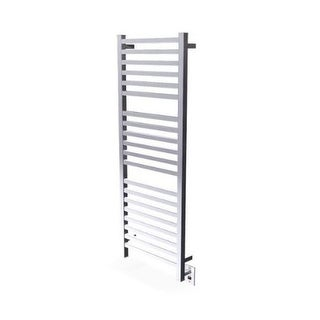 "Amba Q-2054 Quadro 20""W Hardwired Straight Stainless Steel Towel Warmer - 115V"