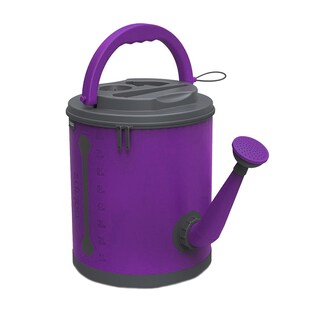 Colapz Colorful Collapsible Watering Can 2.4 Gallon (Option: Purple)