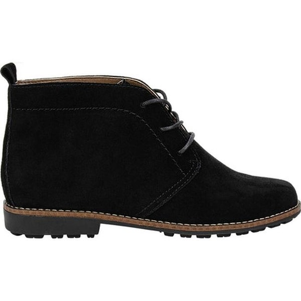 Auburn Chukka Boot Black Suede