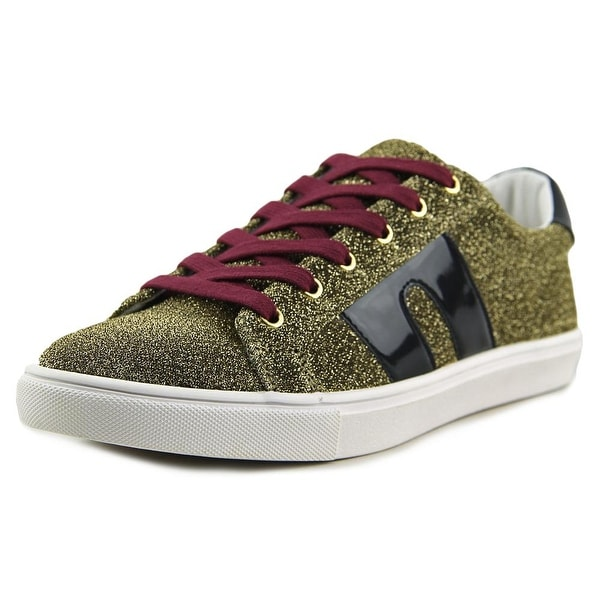 Steve Madden SM1 Women Synthetic Gold Fashion Sneakers