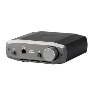 Monoprice Monolith Liquid Spark Headphone Amplifier - by Alex Cavalli With RCA Input, Single 1/4 Output 1.3Watt@50R, 108dB