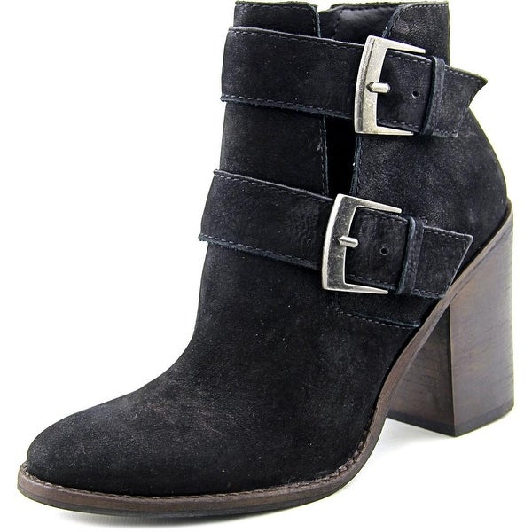 Steve Madden Trevur Women Black Boots