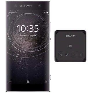 "Sony Xperia XA2 Ultra Factory Unlocked Phone (6"" Screen, 32GB, Black) Bundle - black"